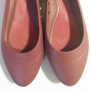 Crocs Lina Ballet Flats Purple Iconic Comfort Shoe